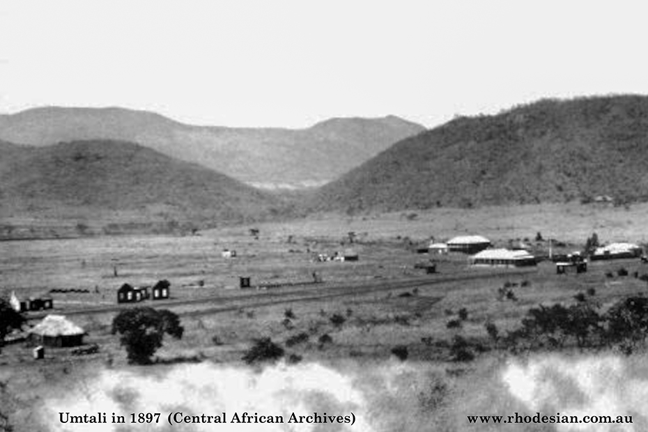 Photo of Umtali in 1897